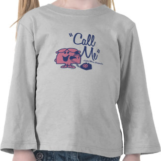 Llamada de pequeña Srta. Chatterbox Camisetas