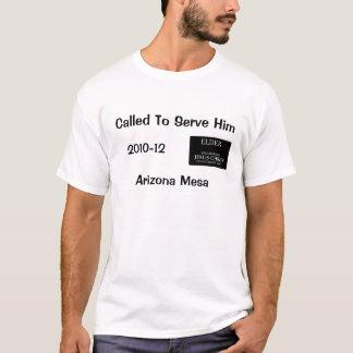 Llamado para servirle - la camisa de la misión de