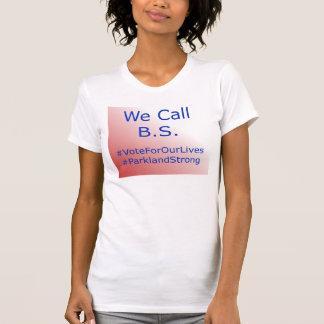 Llamamos la camiseta de la caridad de B.S.