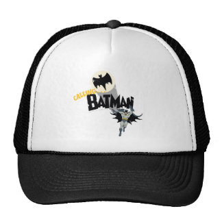 Llamando a Batman gráfico Gorras