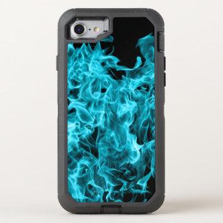 Llamas azules funda OtterBox defender para iPhone 7