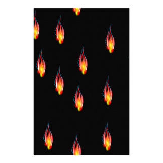 Llamas del fuego  papeleria de diseño