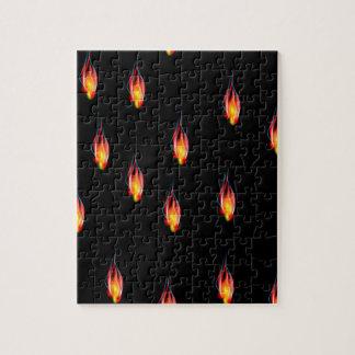 Llamas del fuego puzzle