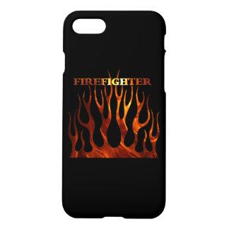 Llamas tribales del bombero funda para iPhone 7