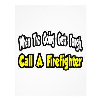 Llame a un bombero tarjetas publicitarias