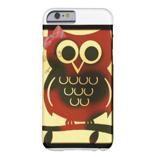 llamo por teléfono a diseño del búho de 6 casos funda para iPhone 6 barely there