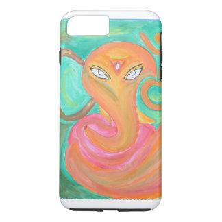 llamo por teléfono al diseño de Ganesha de 6 casos Funda iPhone 7 Plus