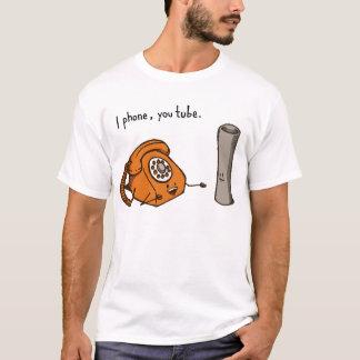 Llamo por teléfono, usted tubo. Camisa