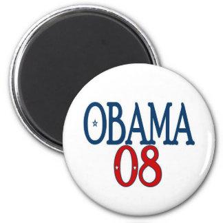 llano de obama 08 imán redondo 5 cm
