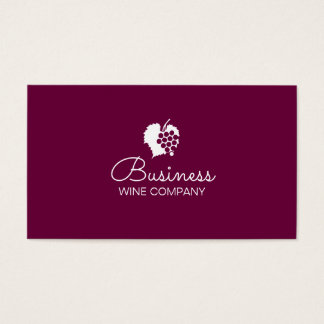 Llano de Winery Wine Company Tarjeta De Negocios