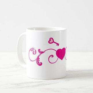 Llave a mi corazón taza de café