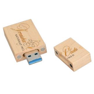Llave de memoria USB del bamboleo de Janaishia
