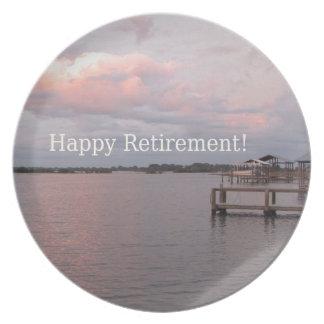 Llave feliz la Florida del cedro del retiro Platos De Comidas