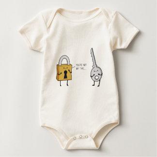 Llave y cerradura body para bebé