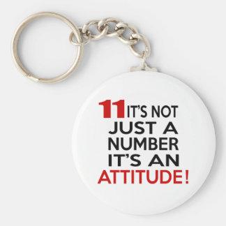 Llavero 11 no es apenas un número que es una actitud