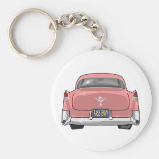 Llavero 1955 Cadillac rosados