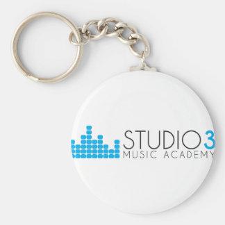 Llavero Academia de música del estudio 3