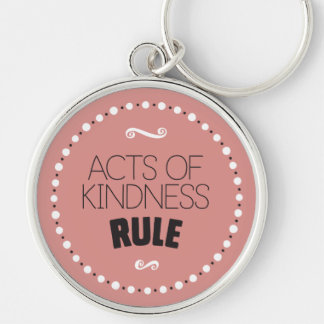 Llavero Actos de la regla de la amabilidad - fondo