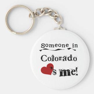 Llavero Alguien en Colorado me ama
