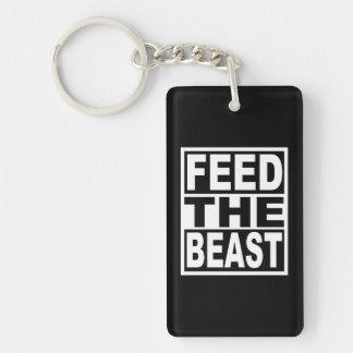 Llavero Alimente la bestia