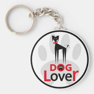 Llavero Amante del perro