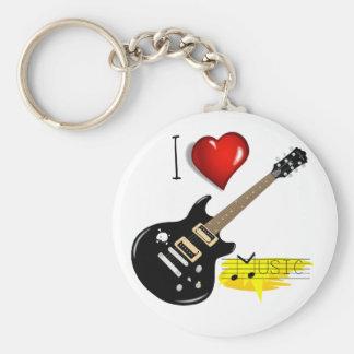 Llavero Amantes de la guitarra
