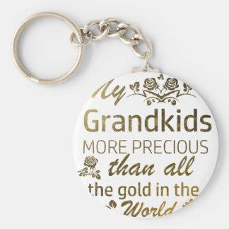 Llavero Ame mis diseños del Grandkid