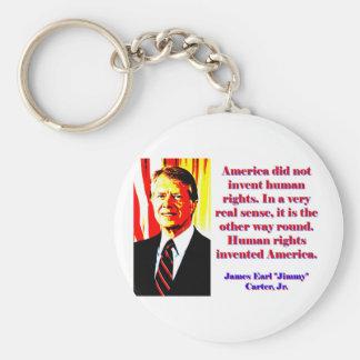 Llavero América no inventó los derechos humanos - Jimmy