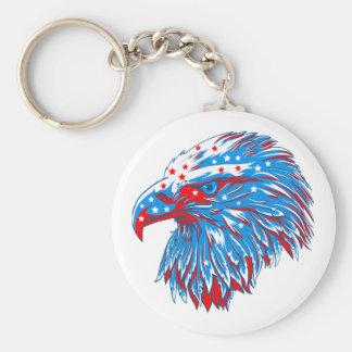 Llavero American Eagle redondo