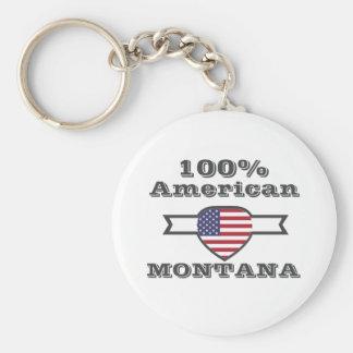 Llavero Americano del 100%, Montana