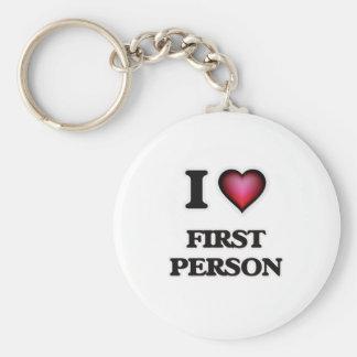 Llavero Amo a la primera persona