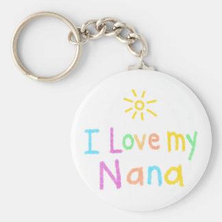 Llavero Amo a mi Nana