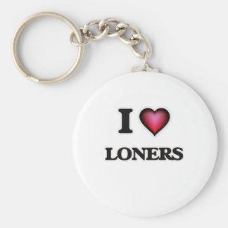 Llavero Amo a solitarios