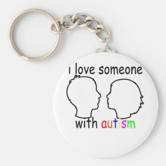 """Llavero amo alguien con autismo """"."""