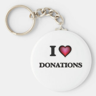 Llavero Amo donaciones