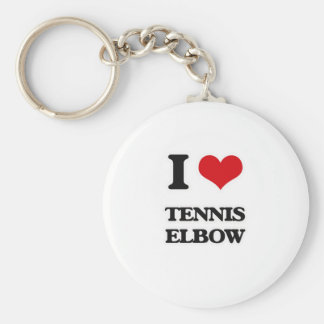 Llavero Amo el codo de tenis