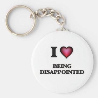 Llavero Amo el estar decepcionado