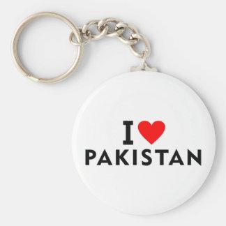 Llavero Amo el país de Paquistán como el turismo del viaje