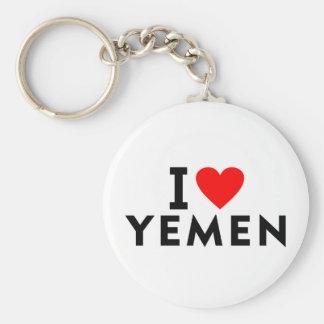 Llavero Amo el país de Yemen como el turismo del viaje del