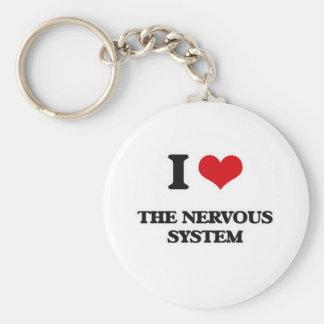 Llavero Amo el sistema nervioso