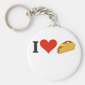 Llavero Amo el Tacos para los amantes del Taco