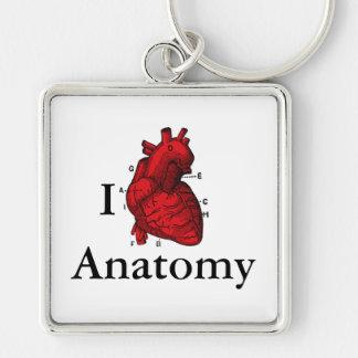 Llavero Amo la anatomía