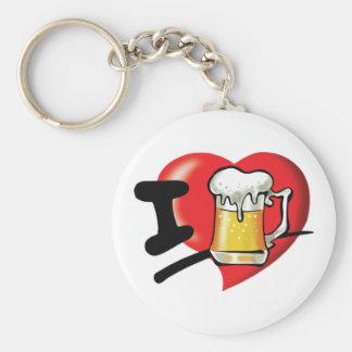 Llavero Amo la cerveza