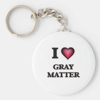 Llavero Amo la materia gris