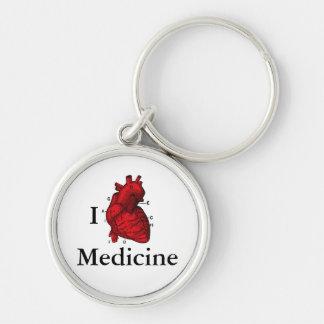 Llavero Amo la medicina