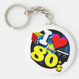 Llavero Amo los años 80