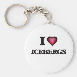 Llavero Amo los icebergs