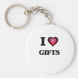 Llavero Amo los regalos