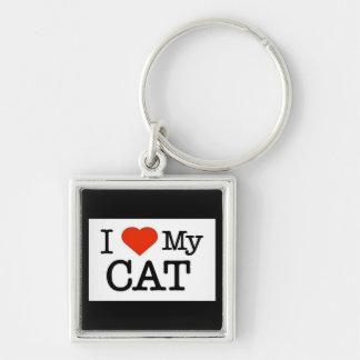 Llavero Amo mi gato