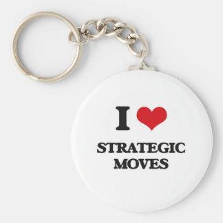 Llavero Amo movimientos estratégicos